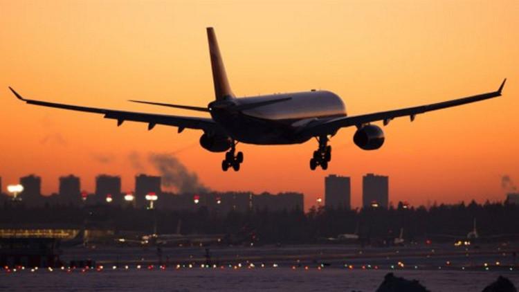 Plane Finder señala que dos aviones pasaron cerca del avión accidentado en Egipto