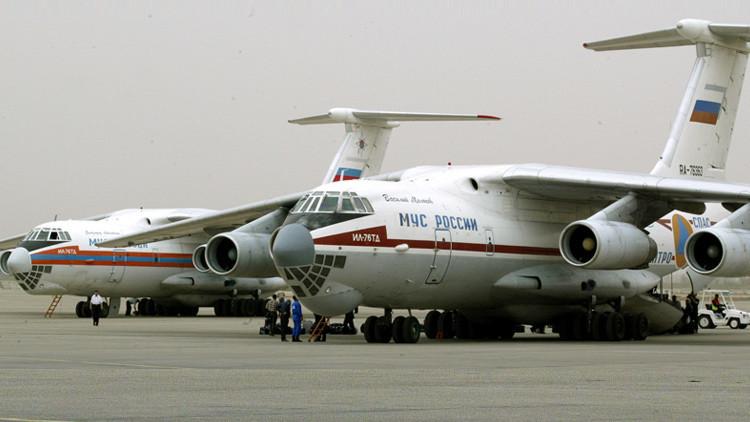 Putin ordena enviar aviones del Ministerio de Emergencia ruso al lugar del accidente aéreo en Egipto