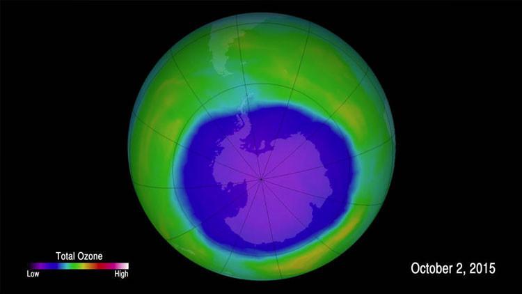 Científicos en alerta: el agujero en la capa de ozono sobre la Antártida alcanza un tamaño récord