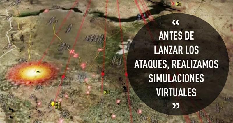 """""""Antes de lanzar los ataques, realizamos simulaciones virtuales"""""""