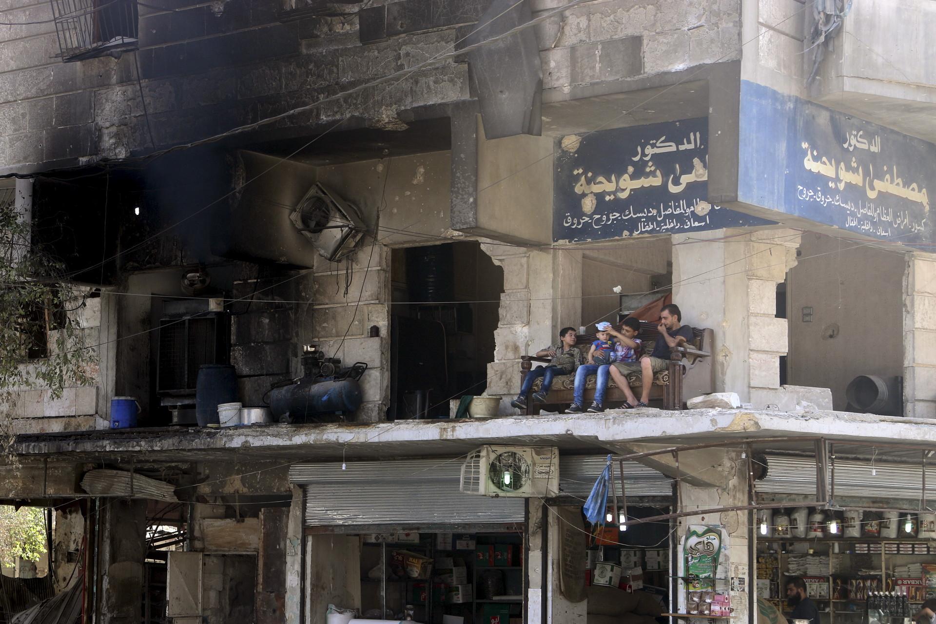 Alepo, Siria.