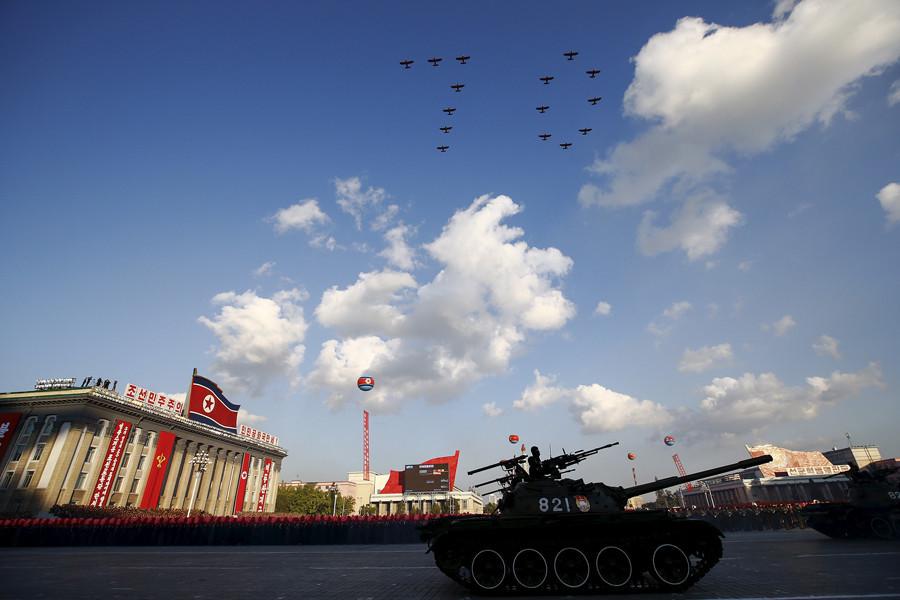 Aviones norcoreanos