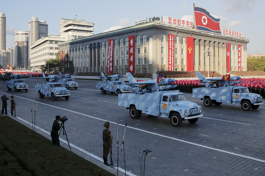 Aviones no tripulados de Corea del Norte