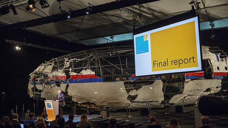 El informe final neerlandés sobre el MH17