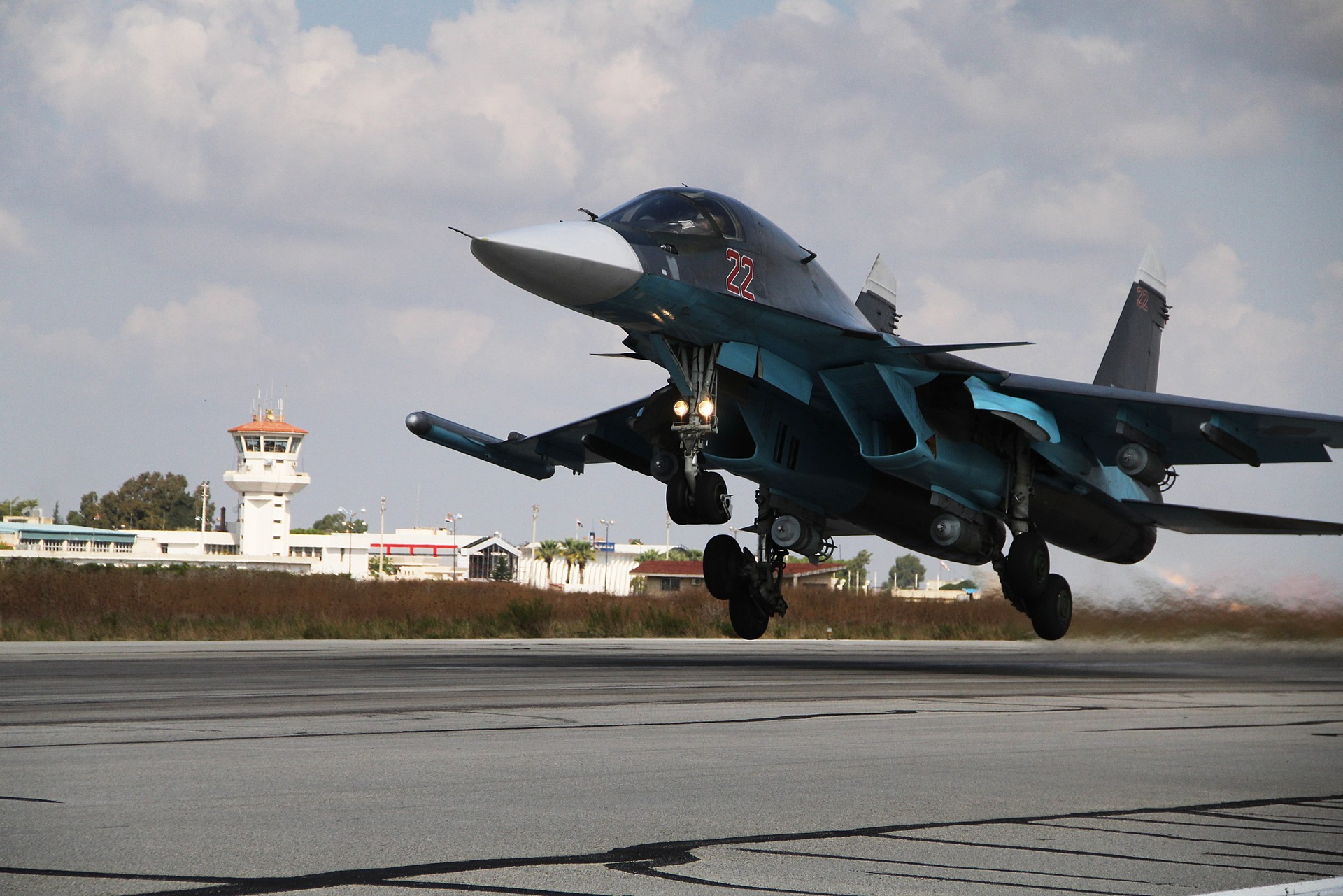 El bombardero Su-34