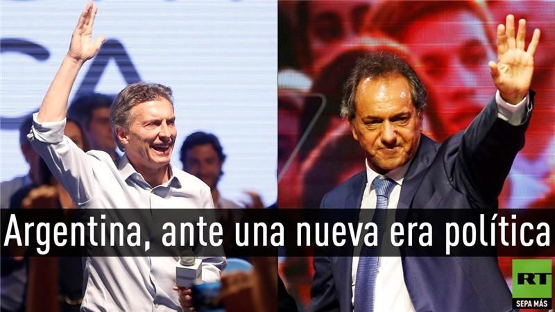 Daniel Scioli/Mauricio Macri