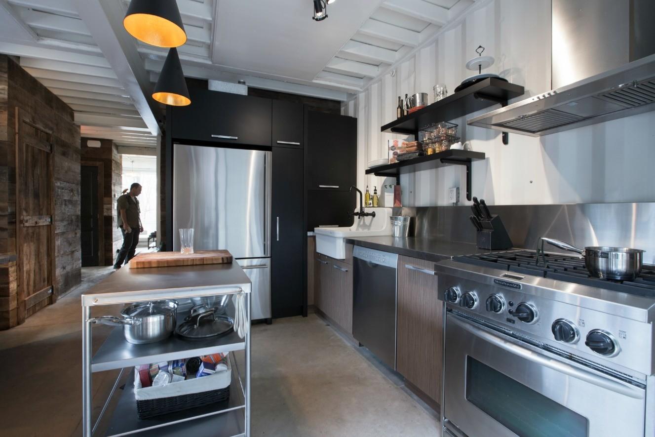 Cocina de la casa de Dubreuil