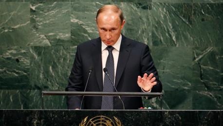Vladímir Putin interviene ante la Asamblea general de la ONU