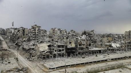 La ciudad de Homs / Mayo de 2014