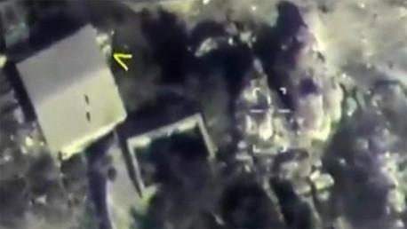 Un ataque aéreo ruso contra una base del Estado Islámico en la llanura de Al Ghab (Siria)