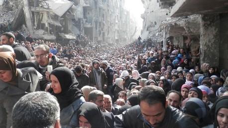 Yarmouk llegó a tener 150.000 habitantes y ahora no quedan ni 4.000