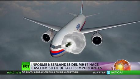 Rusia precisa el lugar del derribo del MH17 mediante un simulacro de la tragedia