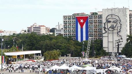 Plaza de la Revolución en La Habana. Foto ilustrativa.