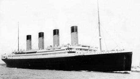 Fotos nunca vistas del lanzamiento del Titanic serán subastadas.