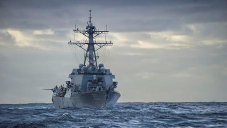 Destructor de misiles guiados de clase Arleigh Burke de EE.UU.