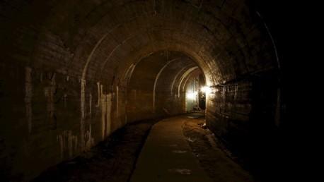 Un túnel en la ciudad polaca de Walbrzych