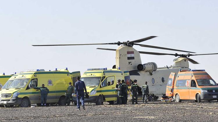 Tragedia aérea en el Sinaí: ¿por qué la búsqueda de cuerpos abarca un amplio territorio?