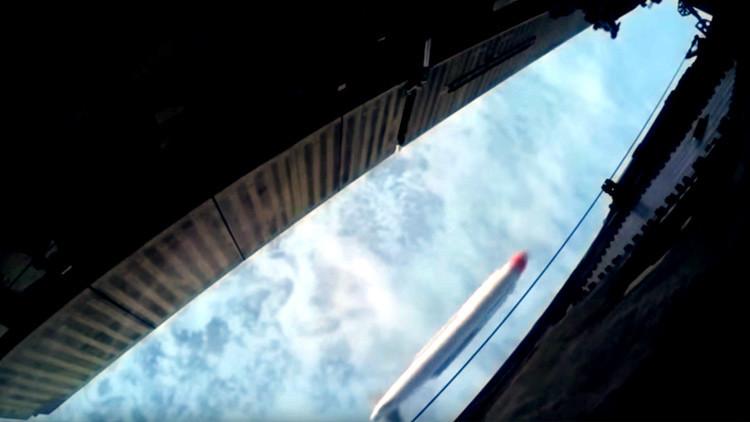 Rusia divulga un nuevo video del lanzamiento de un misil de crucero desde un Tu-160