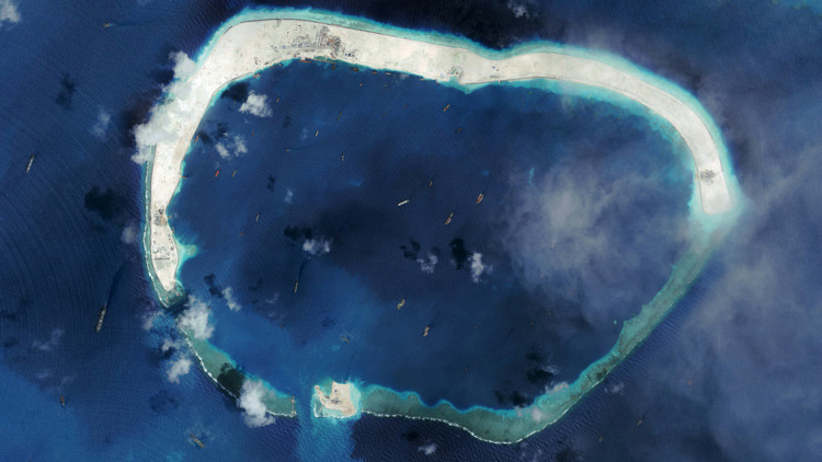 Aliados de EE.UU. exigen mayor presencia de Washington en el mar de la China Meridional