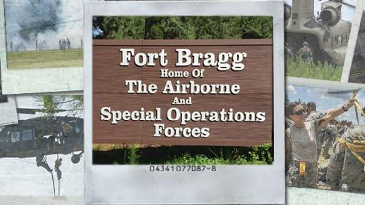 La base militar Fort Bragg, EE.UU.
