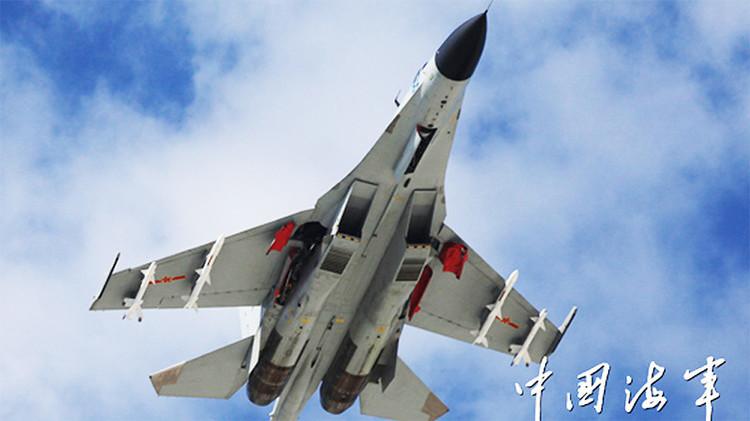 Cazas chinos en zonas disputadas, un mensaje para EE.UU.