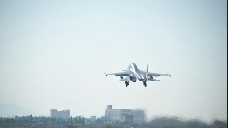 Rusia destruye en Siria base terrorista que impedía la radiocomunicación de tropas gubernamentales