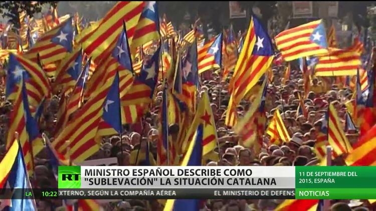 """Ministro español describe la situación en Cataluña de """"sublevación"""""""