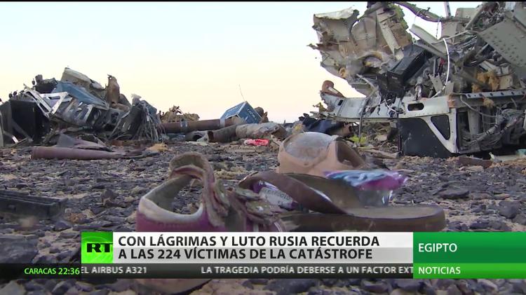 Llega a San Petersburgo un segundo avión con restos de los fallecidos en la tragedia aérea