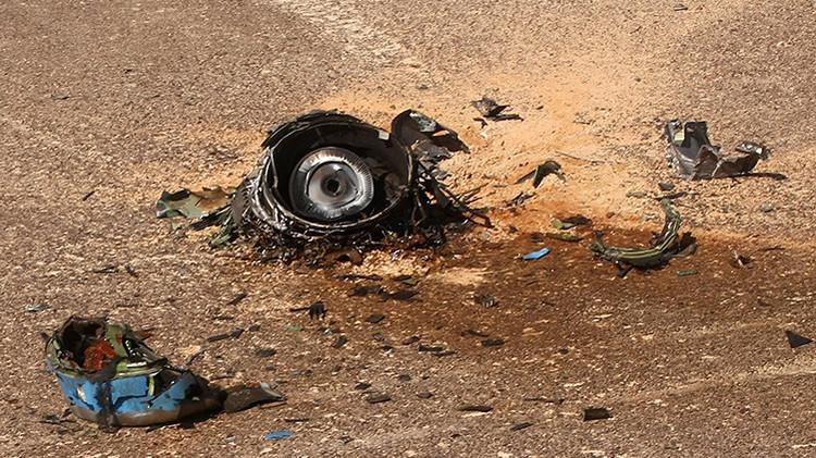 Un satélite de EE.UU. detectó una explosión térmica cuando cayó el avión ruso en Sinaí