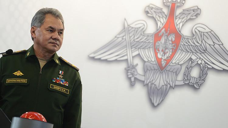 Ministro de Defensa ruso Serguéi Shoigú