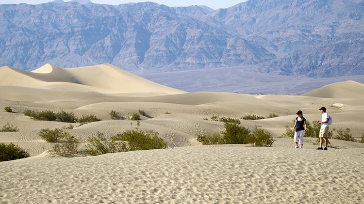 Descubren que un desierto de EE.UU. emite 'gemidos escalofriantes'
