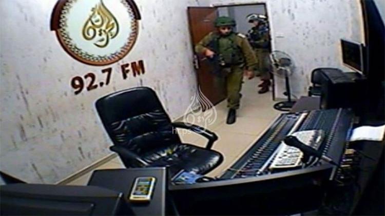 """""""Quieren silenciar nuestra voz"""": Israel asalta y cierra una radio palestina en Hebrón"""
