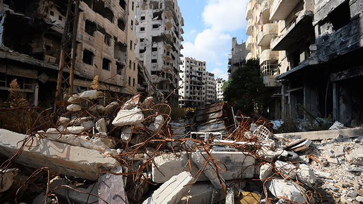 La oposición siria entrega a Rusia datos para bombardear objetivos terroristas del EI