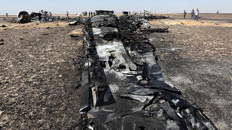 EE.UU. no confirma haber captado una explosión térmica en la caída del avión ruso en el Sinaí