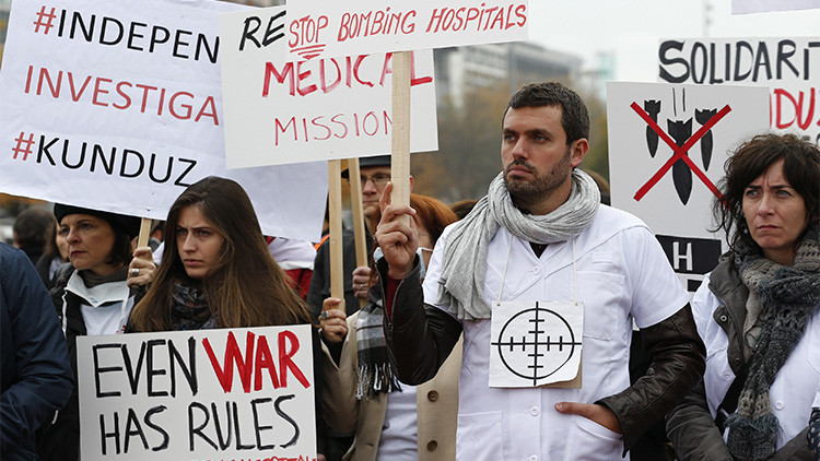 Médicos Sin Fronteras reclama a EE.UU. un estudio imparcial del bombardeo del hospital afgano