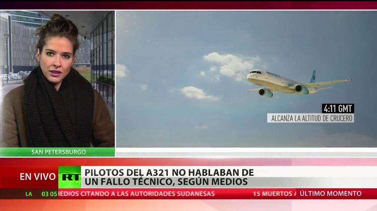 Presidente egipcio descarta un acto terrorista en el siniestro del Airbus A321