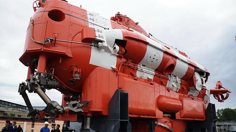 Un submarino de rescate único se incorporará a las filas de la Armada rusa