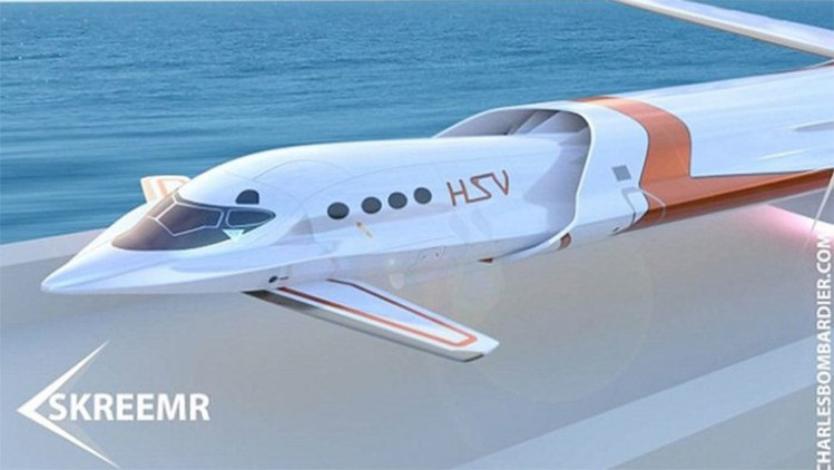 Skreemr: El avión del futuro que podría viajar 10 veces más rápido que el sonido