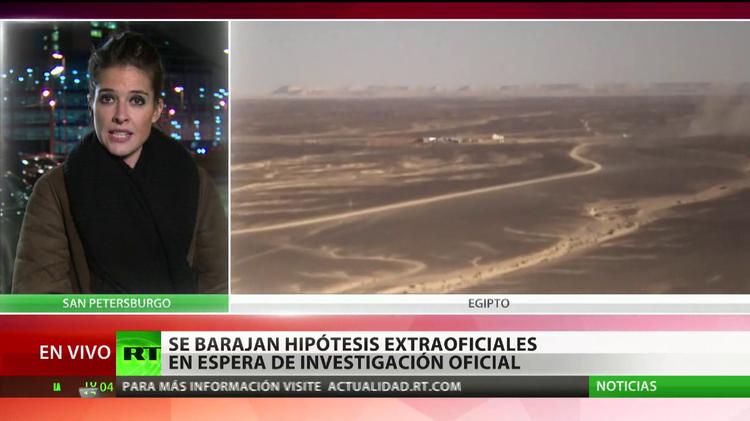 Inician el análisis de los datos de las cajas negras del A321 siniestrado en Egipto