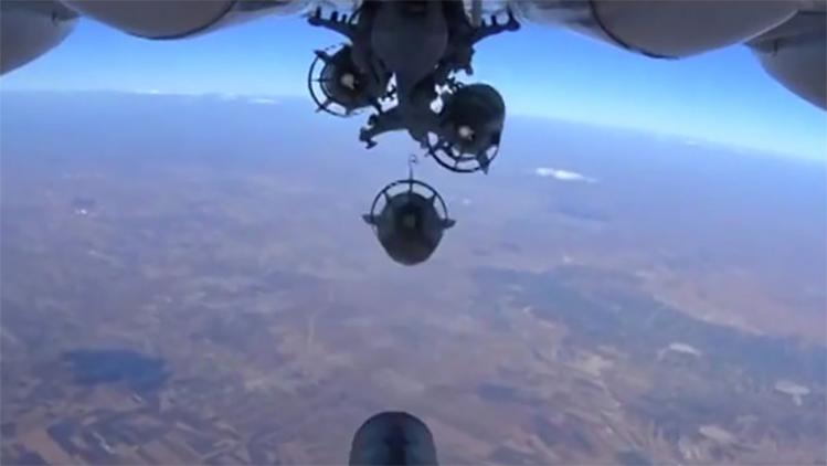 Rusia destruye una fortificación del Estado Islámico a 30 kilómetros de Palmira