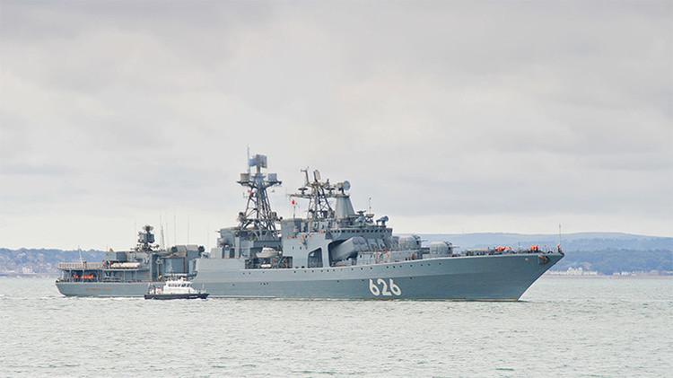 Video: La flota rusa en el Mediterráneo se refuerza con la fragata Vitse-admiral Kulakov