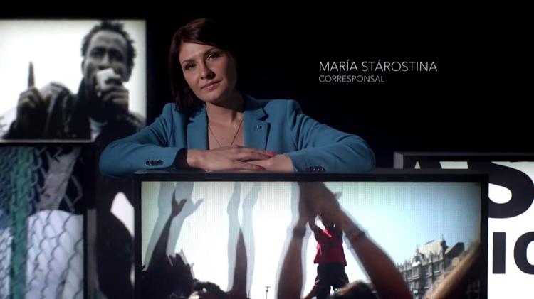 María Stárostina, corresponsal