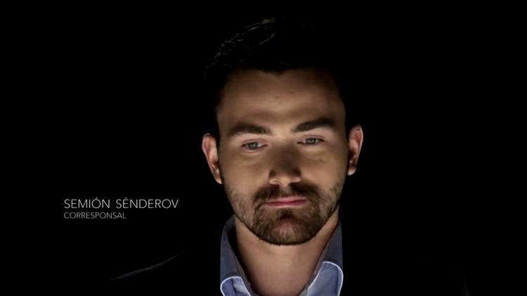 Semión Sénderov, corresponsal