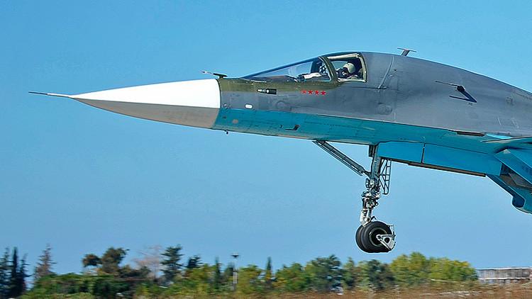 ¿Por qué los pilotos rusos en Siria pintan estrellas rojas en sus aviones?