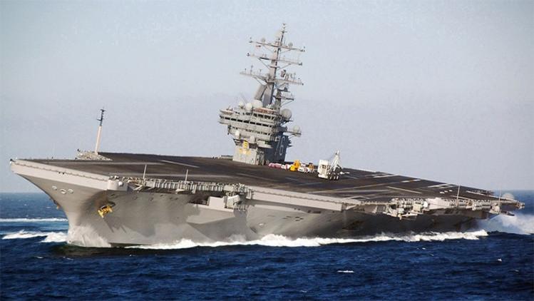 EE.UU. reconoce que se enfrenta a una grave crisis con sus portaaviones
