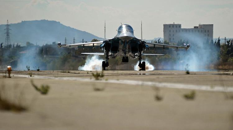 ¿Cómo cooperan las fuerzas aéreas de Rusia y Siria en la lucha contra los terroristas?