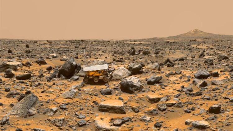 Descubren indicios de niebla ácida en Marte