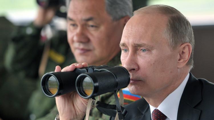Putin 'certifica' la capacidad de las tropas rusas