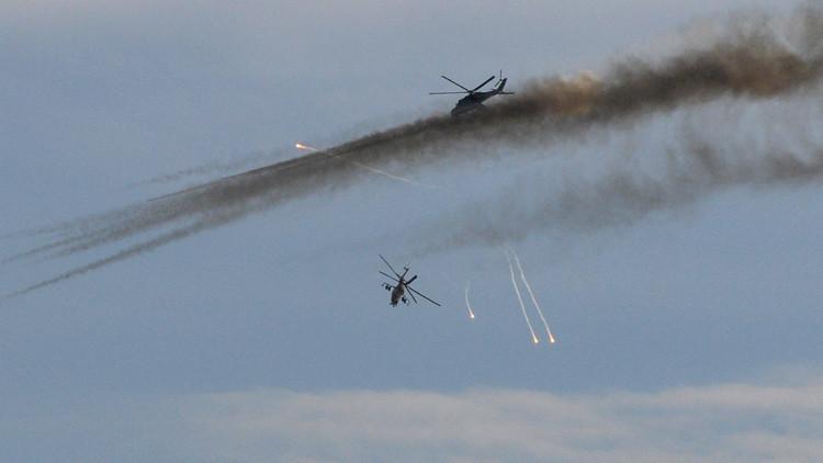 Aviación rusa en Siria explica por qué ha bajado la intensidad de los ataques