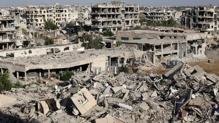 El Ministerio de Defensa de Rusia revela el cambio de táctica de los terroristas en Siria
